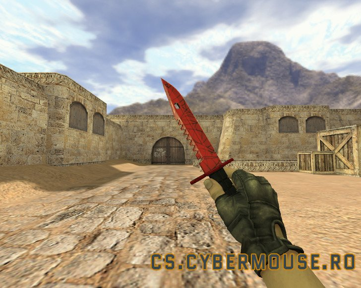 M9 bayonet knife Crimson Web