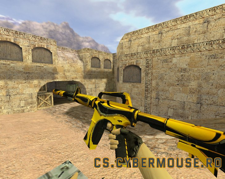 M4A1 Yellow jacket