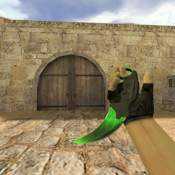 Knife Karambit Gamma Doppler