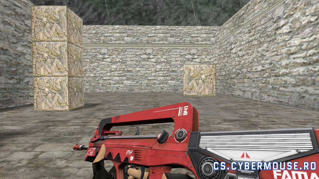 Famas Red falcon