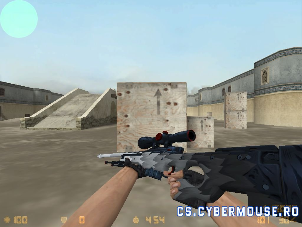 AWP White Fang CS 1.6