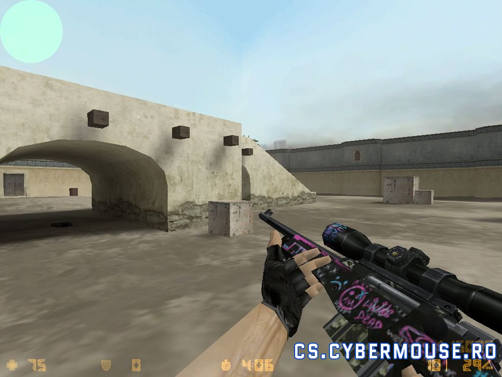 AWP standard model Fever Dream cs 1.6