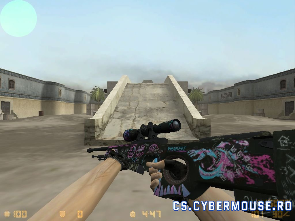 HD AWP Fever Dream with for CS 1.6