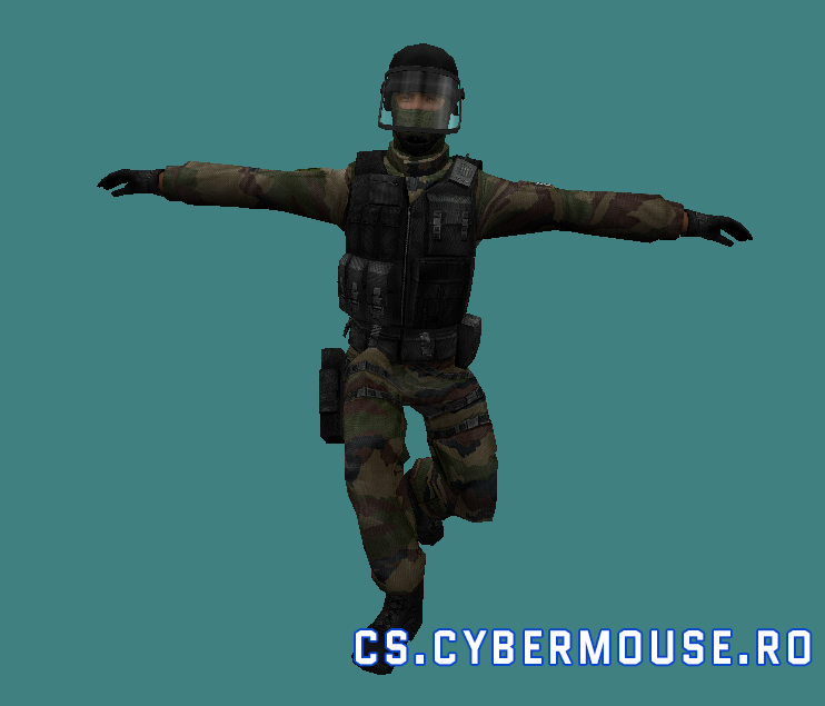 Gign (CT) «CSS GIGN Retexture» for CS 1.6