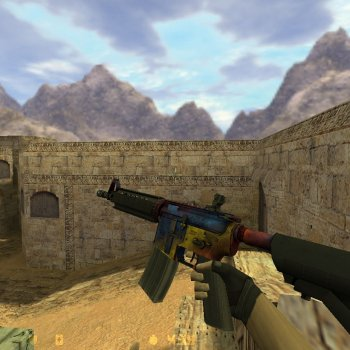 M4A4 Marble Fade