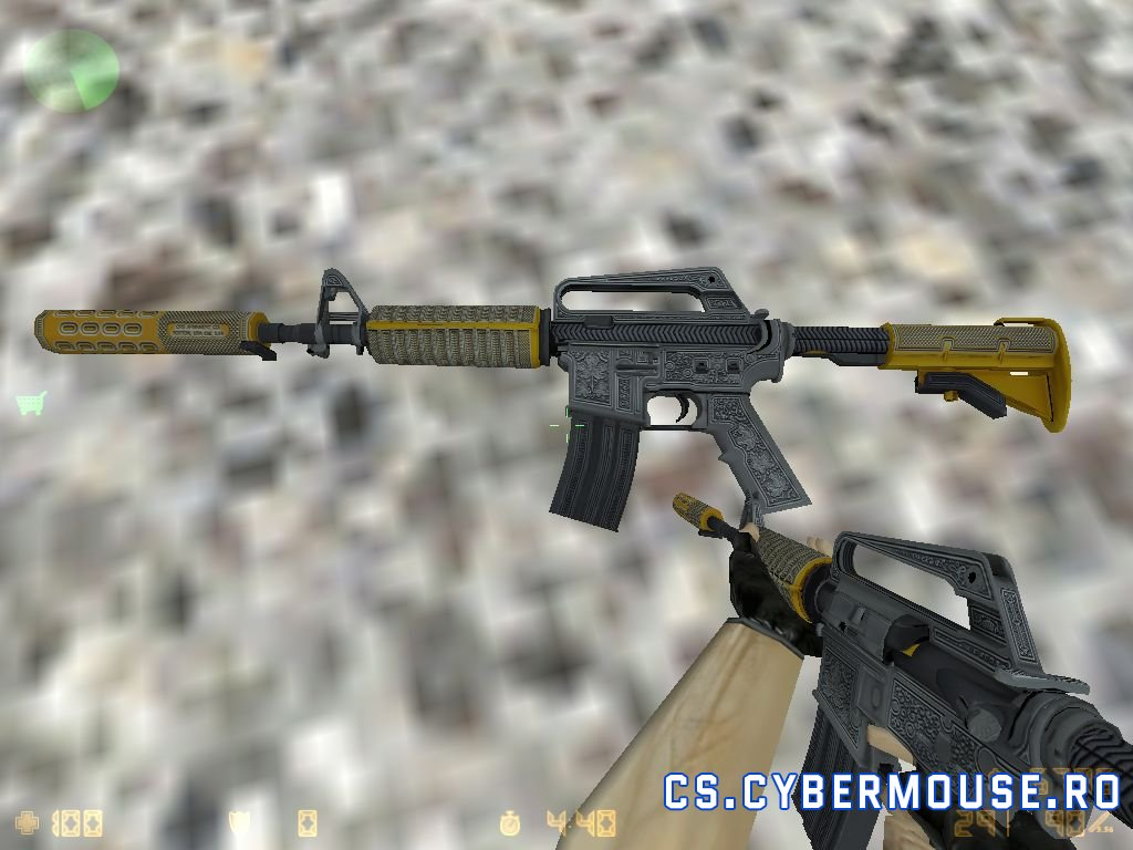 Standard Model M4A1 HD «Privy Councilor» for CS 1.6