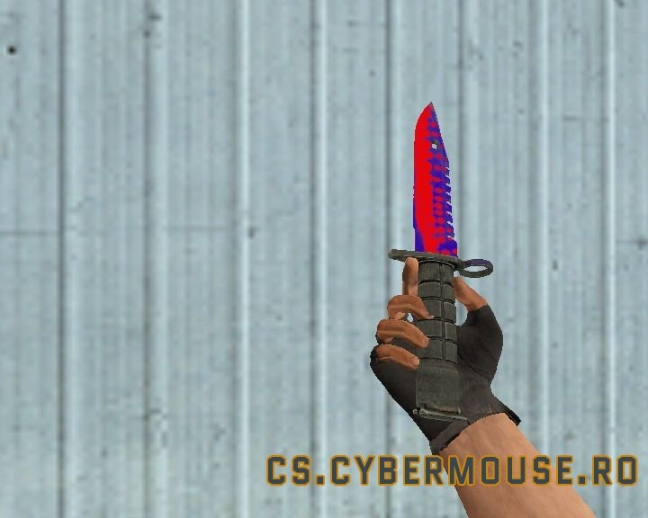 M9 Bayonet Red Bubbles