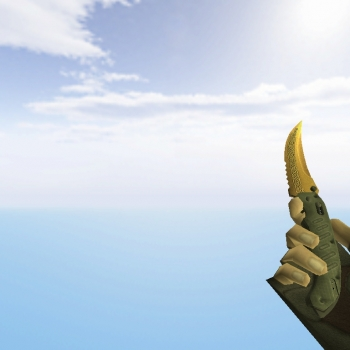 Flip Knife | Lore + Default Gloves
