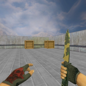 Default knife Boreal Forest