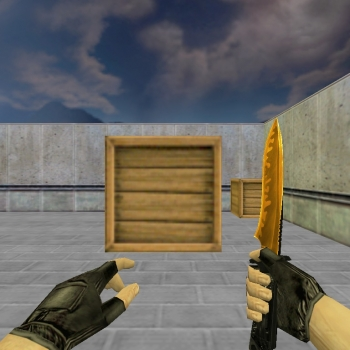 Default Knife Duality Gold