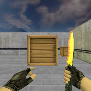 Default Knife Flamey